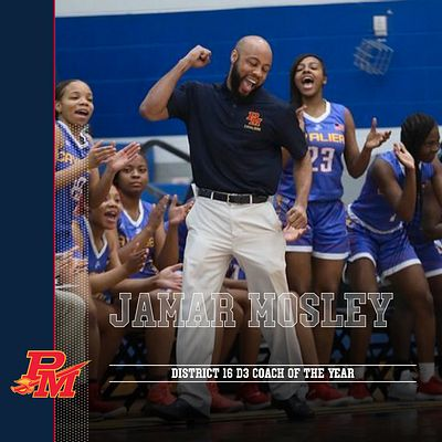 Coach Mosley Named District 16 Division Three Coach of the Year