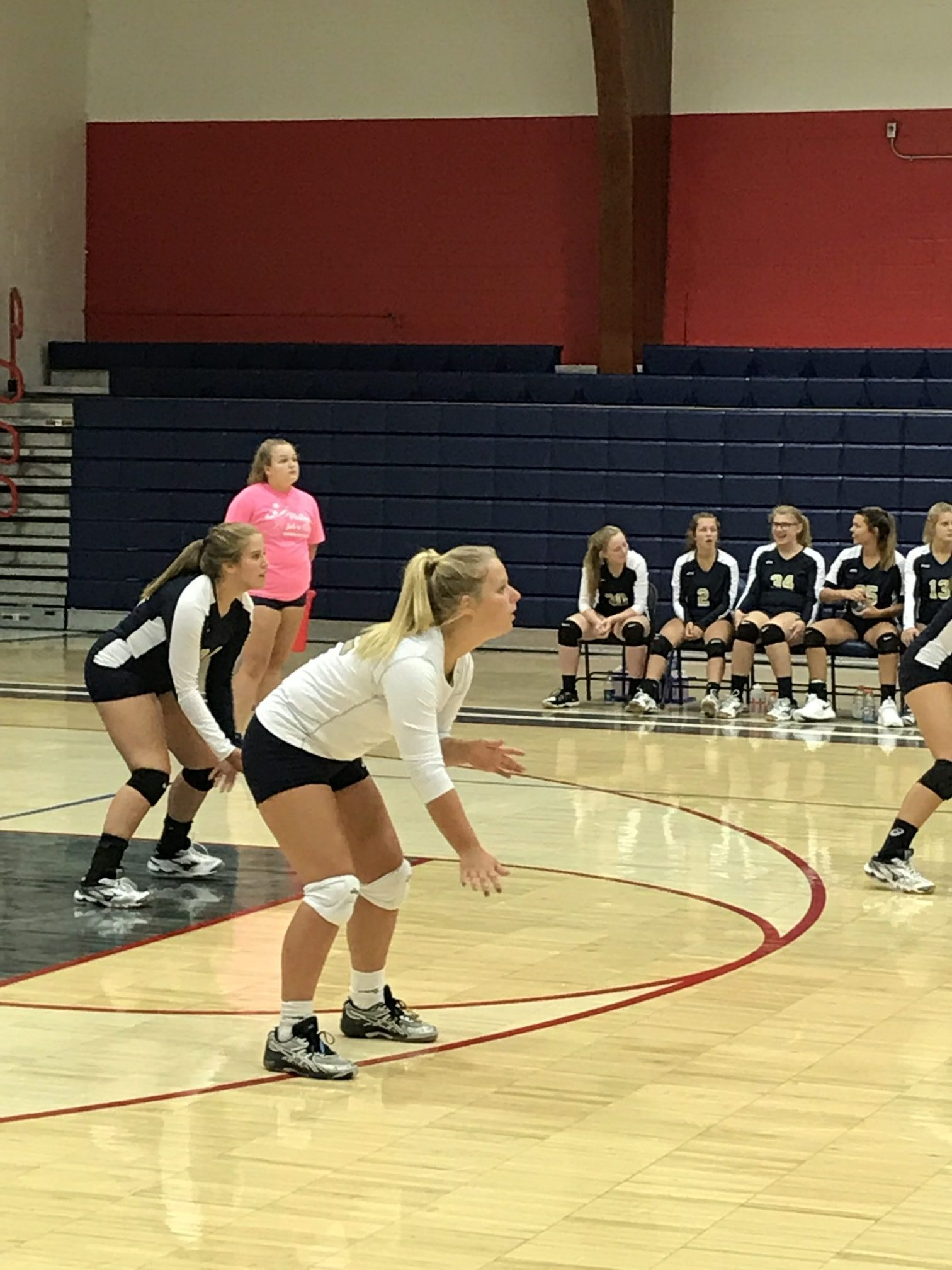 Mustang VB opens with scrimmage at Seeger