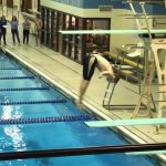 Mustang Eric Medley Advances to Tuesday's Regional Diving at Plainfield