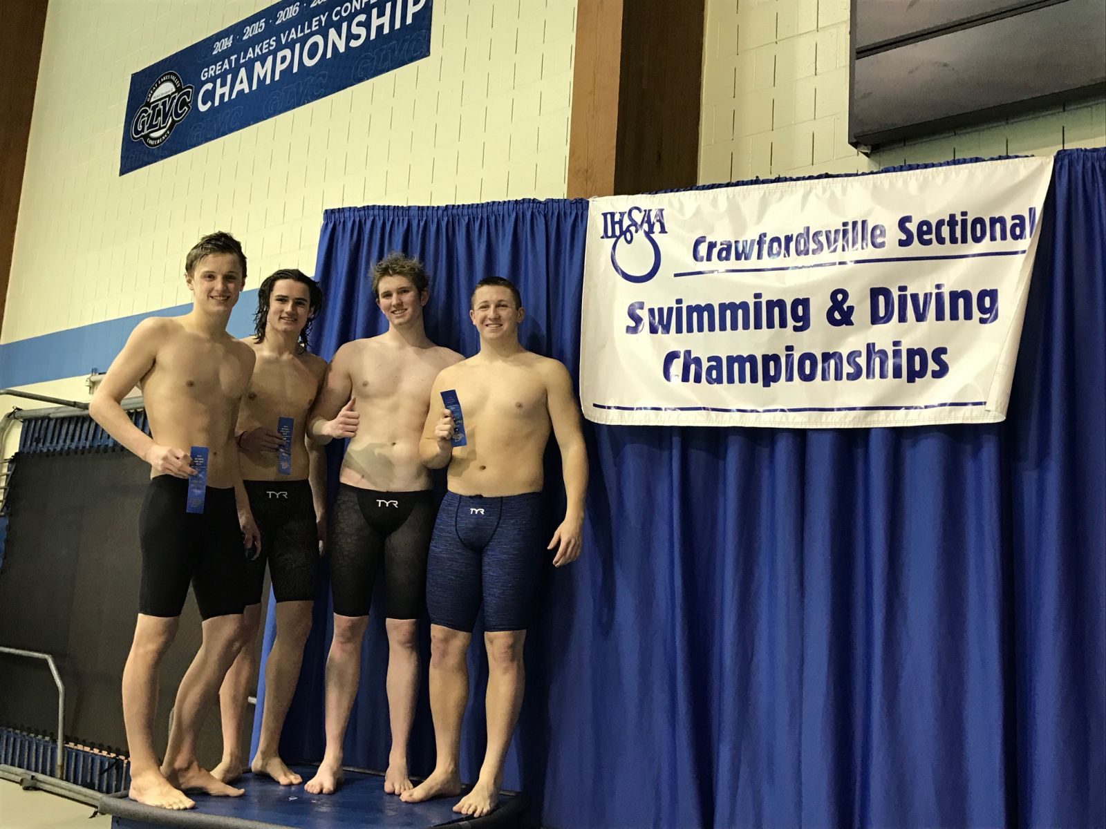 Mustang Swimmers Advancing to State