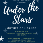 Cheer to Host Mother-Son Dance on Saturday, Nov 9.