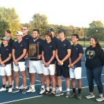 Boys Tennis Sectional Champs to be Honored at Girls B-ball on 11-14.