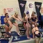 FC Mustang Girls Varsity Swimming beats Western Boone 92 – 91