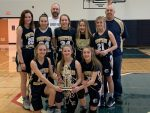 Girls 8th Grade Basketball beats Covington for 1st Bi-County Championship  23 – 19