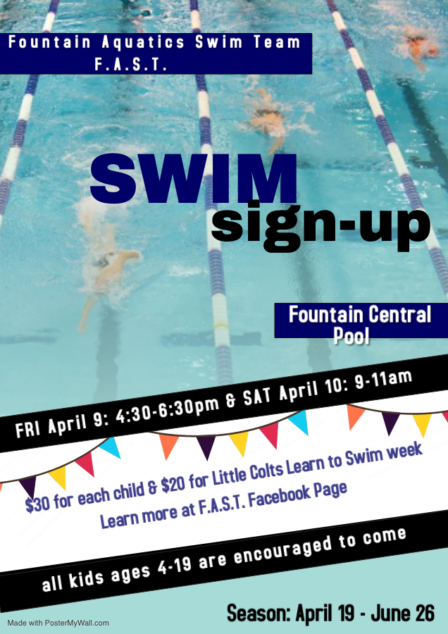 F.A.S.T. Youth Swimming @ FC Info