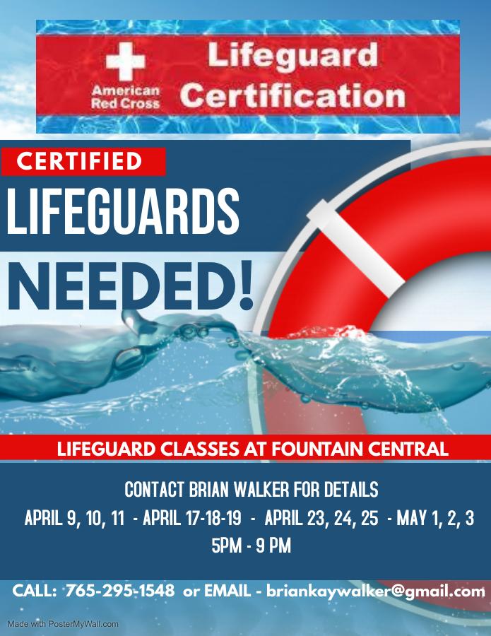 Lifeguard Classes at FC