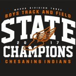 Taking Orders for Varsity Track State Championship T-Shirts!