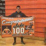 STEVENSON REACHES 100th WIN!
