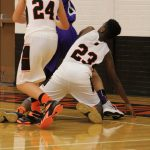 J.V. BOYS BASKETBALL:  1/11/18 (Photos Compliments of Bretlyn Warner)