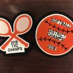 Softball & Lady Tennis Championship Patches Are Here!