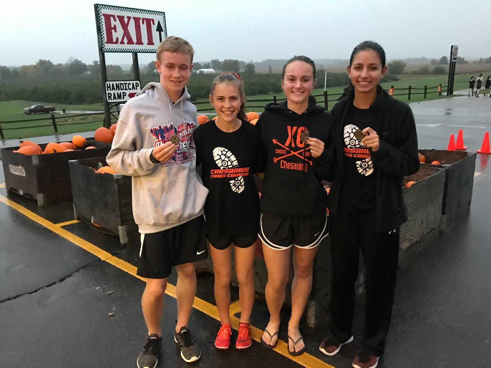 Cross Country Athletes Earn Conference Honors