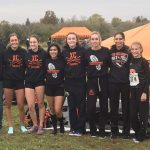 Girls Varsity Cross Country finishes 5th at MHSAA Regionals