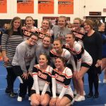 COMPETITIVE CHEER:  Heading to Regionals!