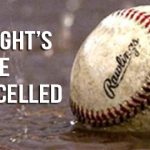 JV BASEBALL/SOFTBALL:  5/1/19 Games Cancelled
