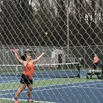 Girls Varsity Tennis beats Caro 8 – 0