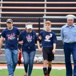 Reeves Family Honored at Military Classic Soccer