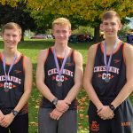 Boys Varsity Cross Country finishes 4th place at Saginaw County Cross Country Championship