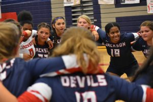 Volleyball vs Baldwin 8/14/18