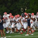 Football travels to Strong Rock