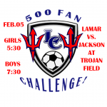 Jackson Soccer vs. Lamar County Soccer-2/5/19