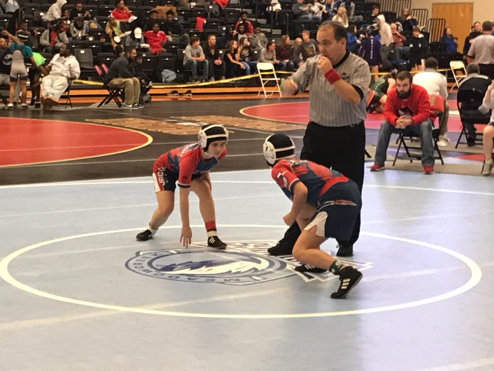 Wresting Red Devils and State Competition 2019