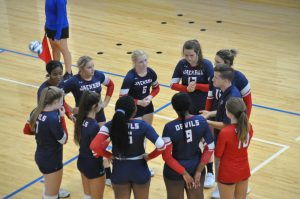 Volleyball Red Devils traveled to Locust Grove for the Southside Classic Tournament