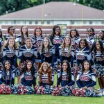 Football Cheerleaders 2019
