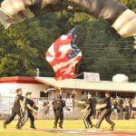 The Game Ball for Football Season Opener will be Delivered by the Silver Wings Parachute Demonstration Team