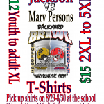 Jackson vs. Mary Persons-Backyard Brawl Shirts 2019