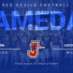 Red Devils Football tonight vs Locust Grove!