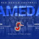 Red Devils Football tonight vs Locust Grove!