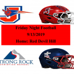 Jackson Red Devils vs. Strong Rock Patriots 9/13/2019