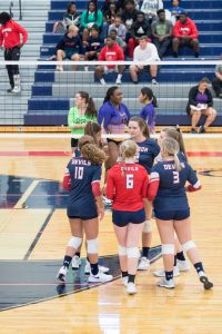 Volleyball-Student Night-9/12/2019-Pictures by Mrs. Katie Stewart