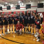 Volleyball Red Devils defeat Pike County and Westside Macon at the Area Play Date-9/21/2019