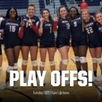 2nd Round of the GHSA Volleyball State Playoffs – Sweet 16.  We are hosting Jackson County 10/22/2019 at 6:00pm