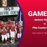 Red Devils Football away game Friday 10/25 @ Pike County – 730pm