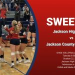 Volleyball Red Devils Host GHSA State Playoff Game-10/22/2019