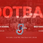 JV Football vs Westside 10/24/2019