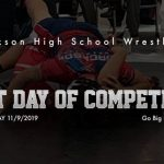Jackson High School is wrestling at Locust Grove High School November 9, 2019
