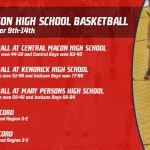 Basketball Red Devils December 9th-14th