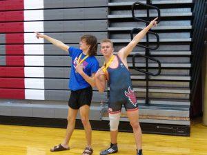 Wrestling at Ola High School-1/25/2020
