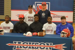 National Signing Day at Jackson High School-2/05/2020