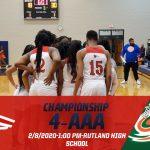 Region 4-AAA Basketball Championship-2/8/2020