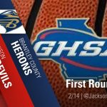 GHSA State Basketball Playoffs-1st Round 2020-2/14/2020