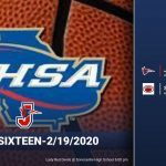 Basketball Lady Red Devils Advance to the 2nd Round-2020