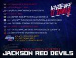 2021 Red Devils Track & Field Schedule