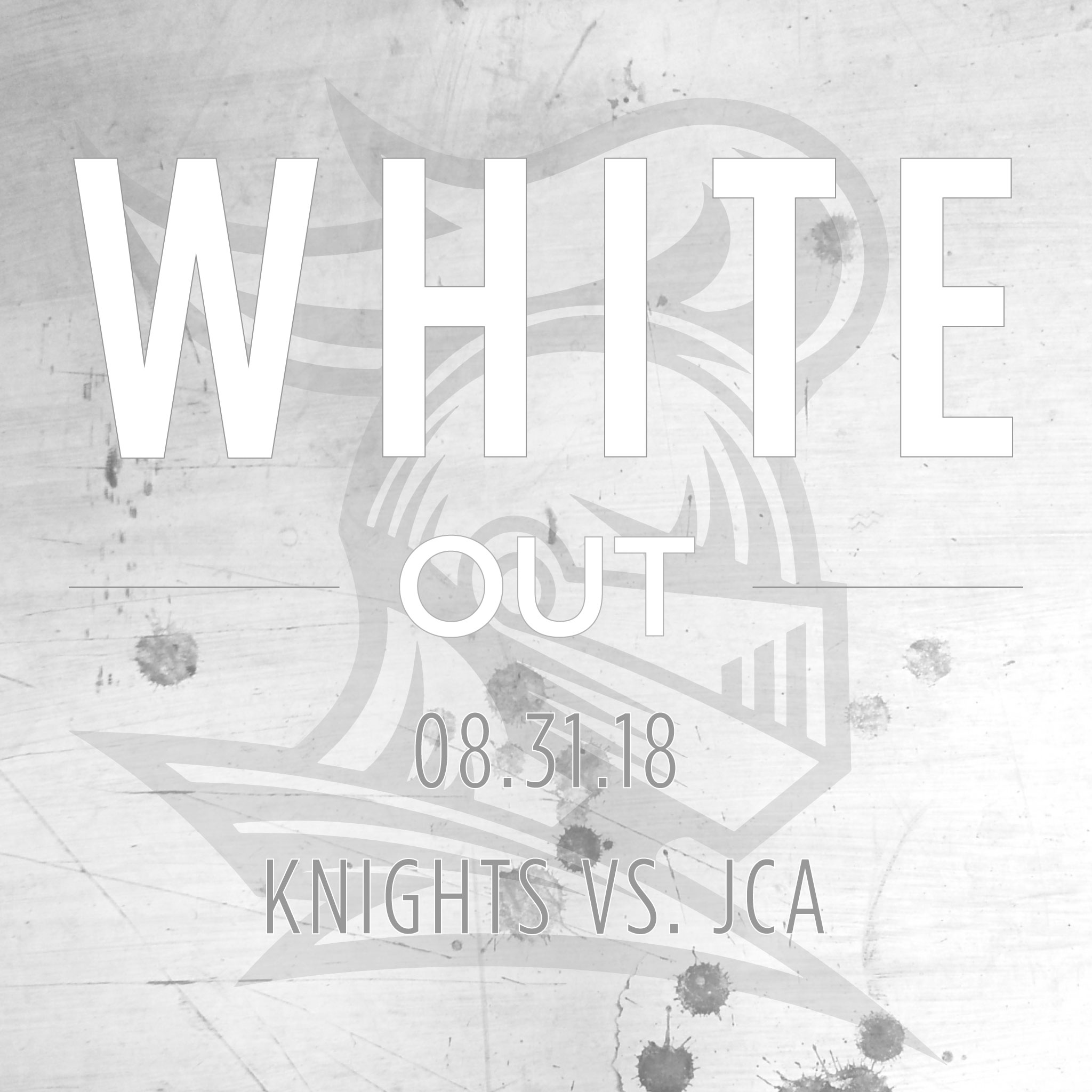 This Friday Is A WHITE OUT!