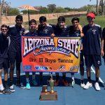 Spartan High School Boys Tennis State CHAMPS!