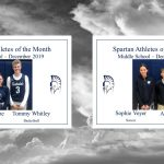 SPA Athletes of the month of December