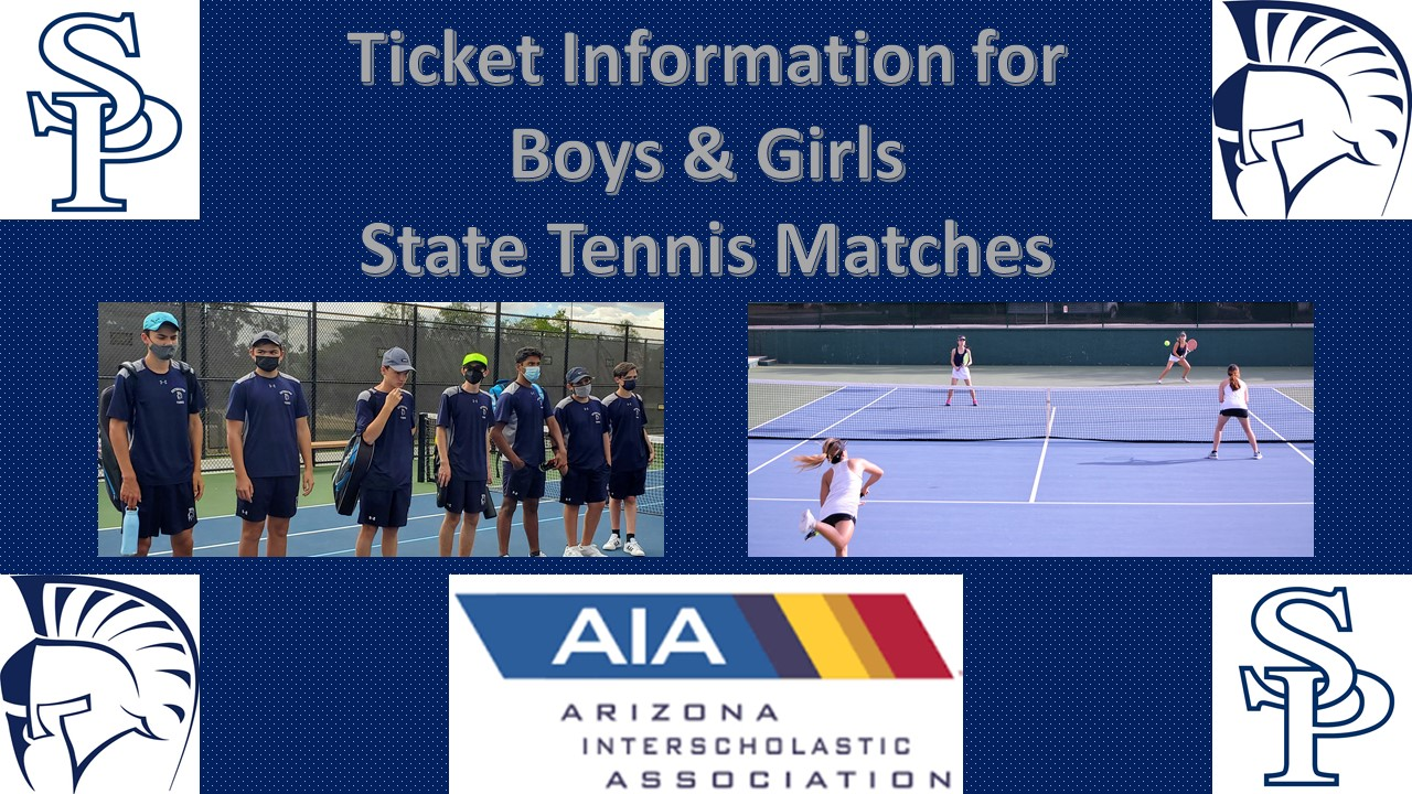 SPA Boys and Girls Tennis State Tournament Information